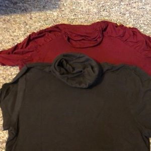 2 turtleneck t-shirts!